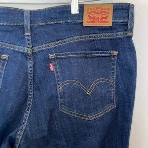 Levi's 415 Classic Boot Cut Jeans 18W Short NWT